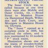 Metropolitan Circle stock.