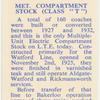 "Met Compartment stock (class ""T"")."