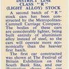 "District Line Class ""R"" (light alloy) stock."