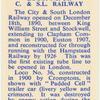 Loco. No. 36. C. & S.L. Railway.