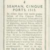 Seaman, Cinque ports, 1513.