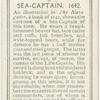 Sea-captain, 1642.