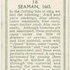 Seaman, 1663.