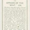"""Officer of the """"Kent,"""" 1745."""
