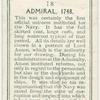 Admiral, 1748.