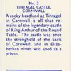 Tintagel Castle. Cornwall.