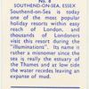 Southend-on-Sea. Essex.