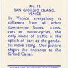 San Giorgio Island, Venice.