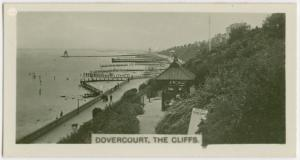 Dovercourt, the cliffs.