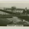 Lowestoft, harbour.