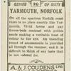 Yarmouth pier.