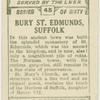 Bury St. Edmunds, Norman tower.