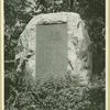 Monument to the whaling vessels that sailed out of Cold Spring Harbor