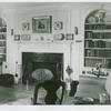 Interior view of house in Garden City]