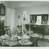 Interior view of Mrs. Sherwood Hubbel's house in Garden City]