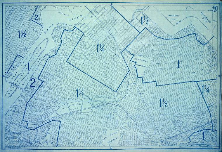 Height District Map Section No. 9