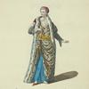 Habit of the sultaness, or empress of the Turks in 1700. La sultane Asseki ou Sultane reine.