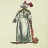 Habit of the chief of the black eunuchs in 1749. Chef des eunuques noirs.