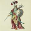 Habit of the commander in chief of the Spahis, in 1749. Chef des Spahis.