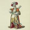 Habit of the grand seignor's body guard, in 1749. Garde du grand seigneur.