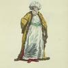 Habit of emir bashaw, in 1749. Emir-bachi.