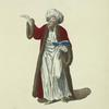 Habit of the mufti, or chief priest of the Turks, in 1749. Le moufti.