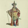 Habit of an ambassador from Siam in 1749. Ambassadeur de Siam.