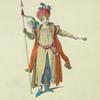 Habit of the Tartarian prince, in 1700. Prince Tartare.