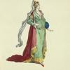 Habit of a Tartarian princess, in 1700. Princess Tartare.