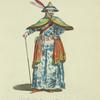 Habit of the emperor of China, in 1667. L'empereur de la Chine.