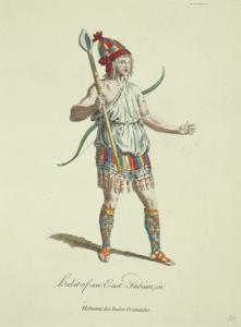 Habit of an East Indian in [sic] Habitant des Indes Orientales.
