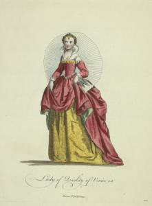 Lady of quality of Venice in [sic] Dame Venitienne.