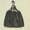 Full dress of a lady of Nuremburg in 1755. Habit de cérémonie d'une dame de Nuremberg.