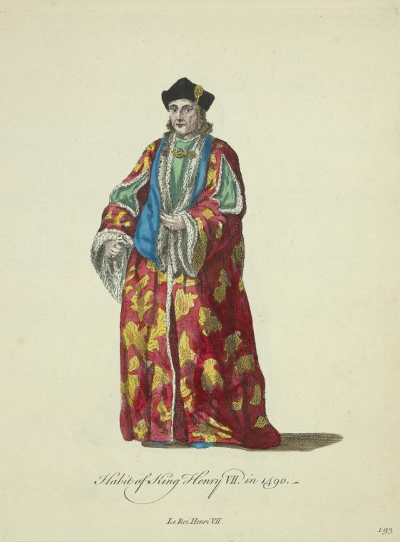 This is What King of England Henry VII Looked Like  in 1757