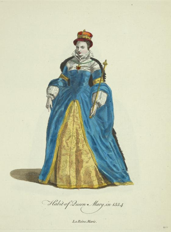 This is What Queen of Scots Mary Looked Like  in 1757