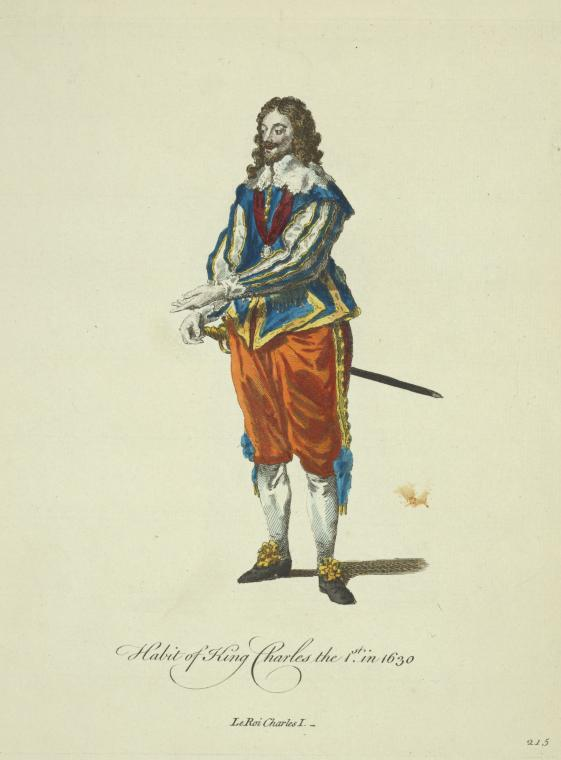 This is What King of England Charles I Looked Like  in 1757