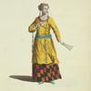 Habit of a lady of Tartary in 1667. Dame de Tartarie.