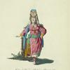 Habit of a woman of Wotiac in Siberia in 1768. Femme Wotiake.