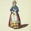Nobleman's wife of Denmark in 1626. Dame de qualité de Dannemarck