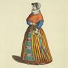 Merchants wife of Denmark 1626. Femme d'un marchand de Dannemarck.