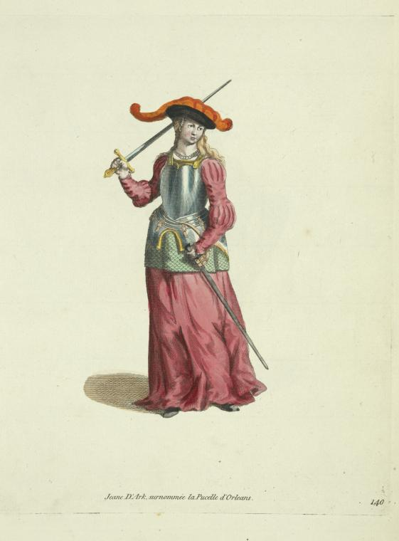 This is What of Arc Joan Looked Like  in 1650