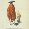 Habit of a Spaniard of Montevideo in South America in 1764. Espagnol de Montevideo.