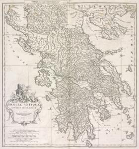 Græciæ antiquæ : specimen geographicum.