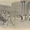 Représentation d'un combat de gladiateurs, donnée par des femmes, a Rome.