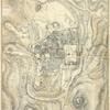 Plan of modern Jerusalem.