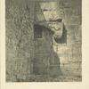 View of the south gate of the Haram es-Sherif (Bab el-Huldah).