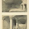 Underground works of the Mosque of el-Aksa, the monolith in the underground works.
