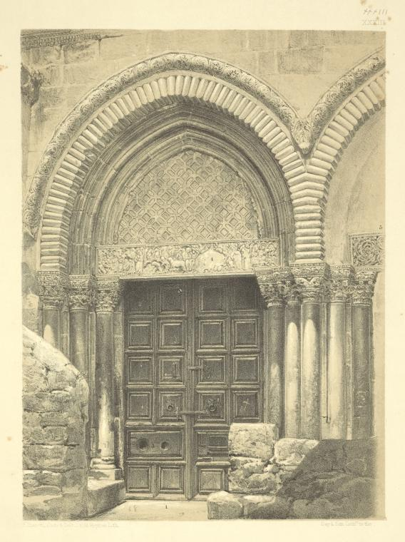 This is What Church of the Holy Sepulchre Looked Like  in 1864