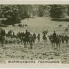 Warwickshire foxhounds.