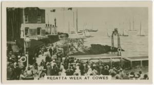 Regatta Week at Cowes.